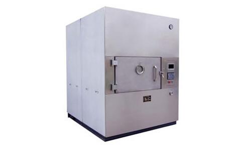 Batch type of microwave vacuum drying equipment