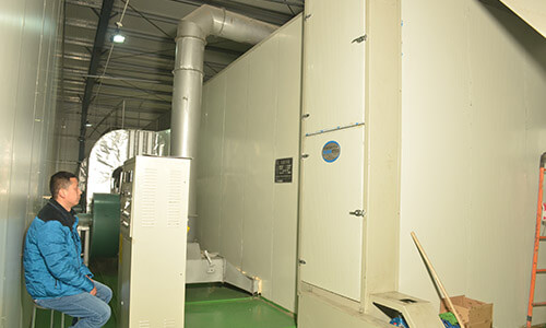 Multi-layers of hot air dryer